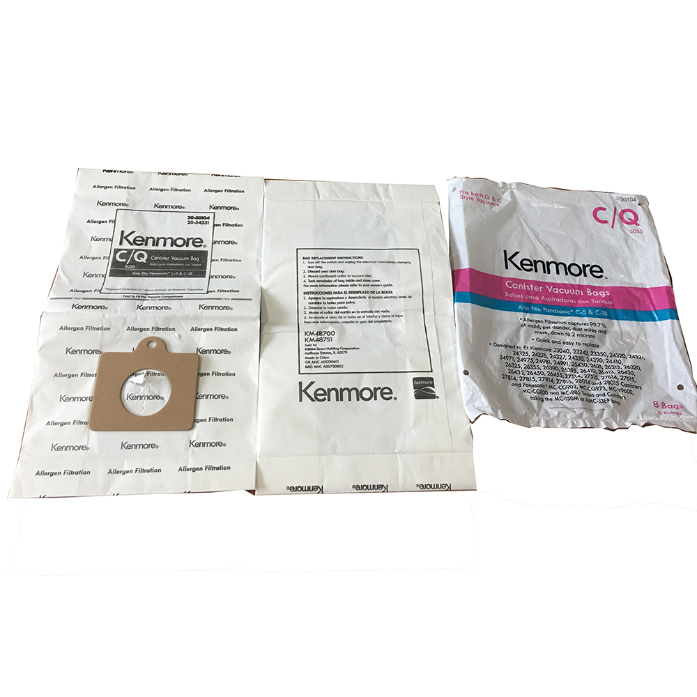Vacuum Non-woven Dust Bag for Kenmore CQ