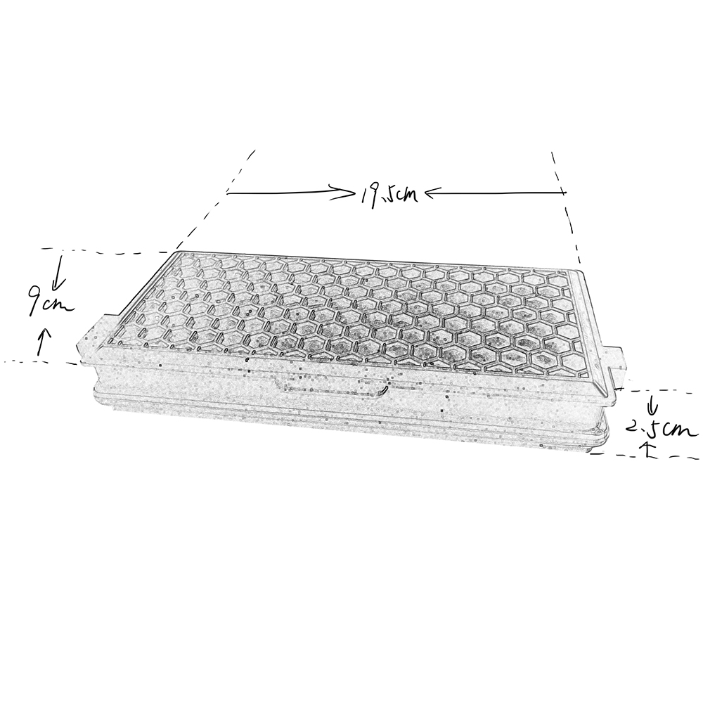 Vacuum filter for Miele SF-AAC50